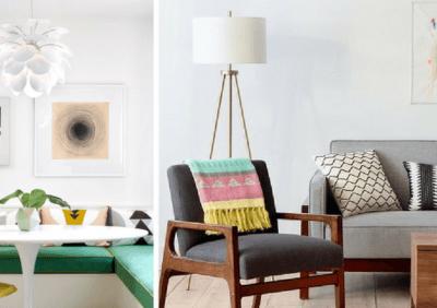7 prostych i skutecznych sposobów na stworzenie wnętrza w stylu retro