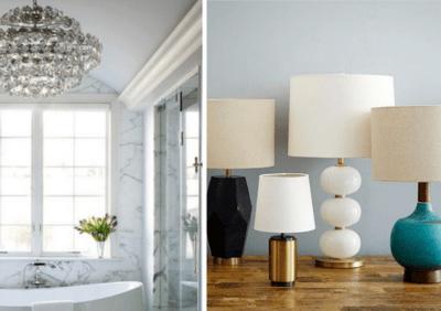 6 przykazań dekoratora jak oświetlać wnętrza