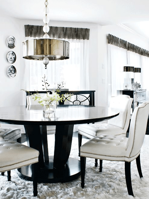 lampa wisząca w stylu glamour
