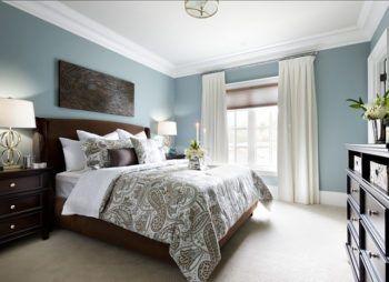 sypialnia styl nowojorski