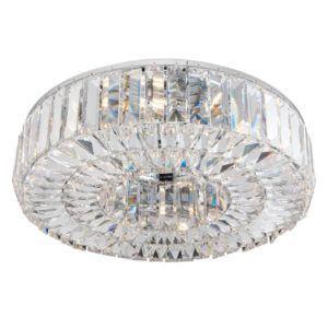 elegancka lampa sufitowa z prawdziwych kryształów