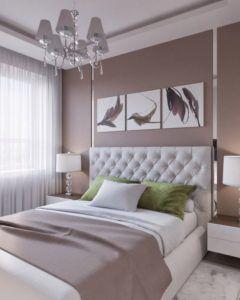 żyrandol w sypialni