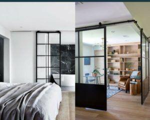 drzwi przesuwne zamiast ściany