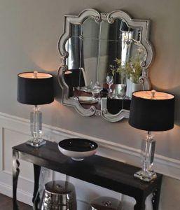 lampy stołowe w stylu glamour