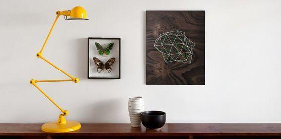 Geometria w oświetleniu - lampy i detale o wielu kształtach