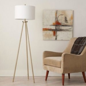lampa podłogowa do salonu