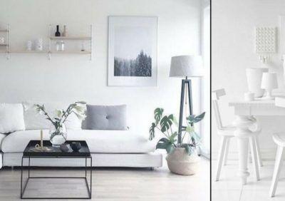 Białe wnętrze nie musi być nudne - stylistyka i oświetlenie