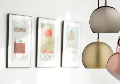 Seria lamp Ball od Frandsen – dodatek do nowoczesnego wnętrza