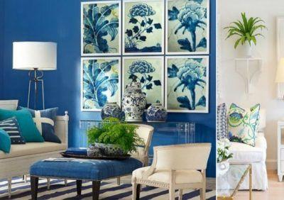 Aranżacje blue & white