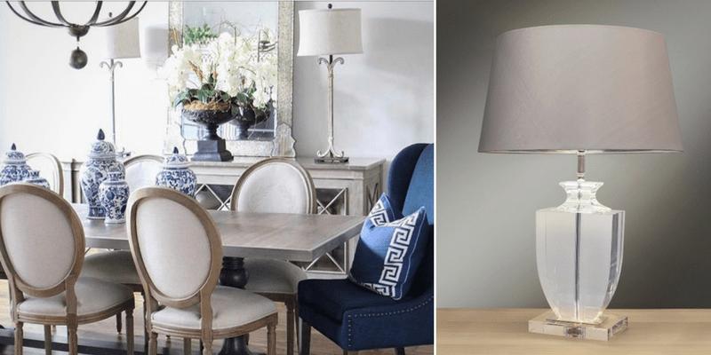 Salon z oświetleniem w stylu Hamptons - wakacje przez cały rok