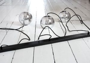lampa szynowa Ball track frandsen chrom