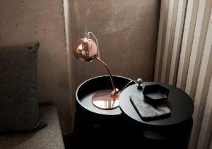 lampa biurkowa ball frandsen miedź