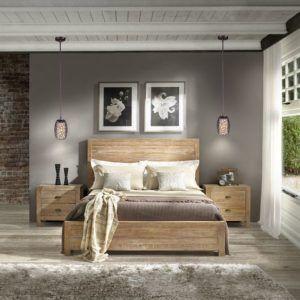 nowoczesna sypialnia oświetlenie