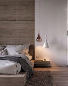 nowoczesne oświetlenie sypialni lampy wiszące