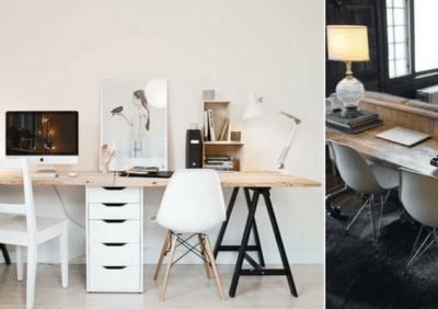 Oświetlenie domowego biura – przegląd aranżacji