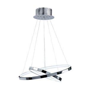 designerska lampa koła