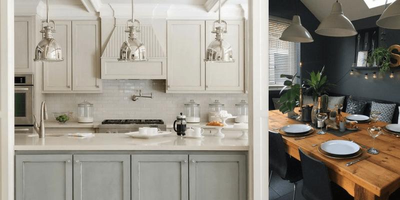 Kuchenne lampy  w stylu industrialnym- przegląd aranżacji