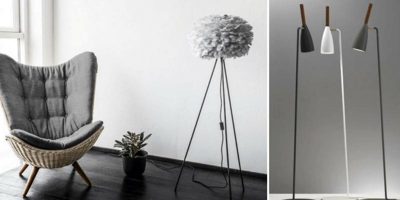 Lampy podłogowe ze Skandynawii  - top 5 miesiąca