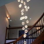 lampa na schody