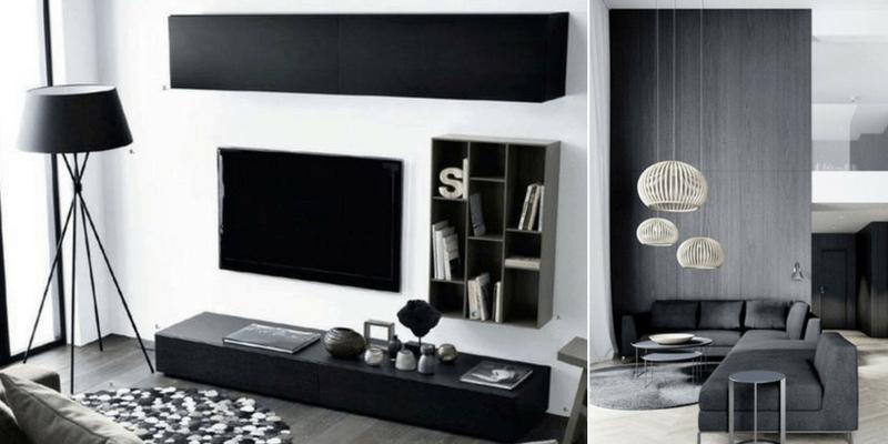 Salon w stylu nowoczesnym – jak dobrać oświetlenie