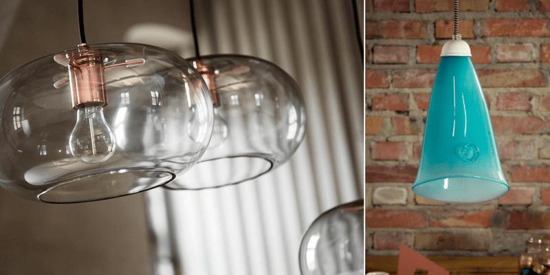 Oświetlenie ze szkła w każdym stylu - przegląd aranżacji