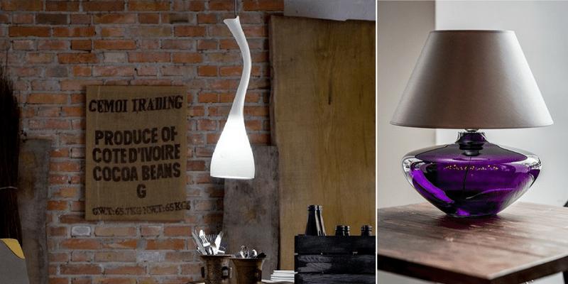 Lampy z barwionego szkła – top 10