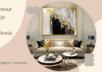 Styl glamour – aranżacje wnętrz i oświetlenia, galerie, zdjęcia, inspiracje