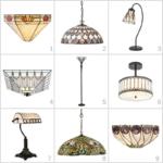 lampy ze szkła witrażowego