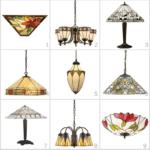 lampy witrażowe kolory