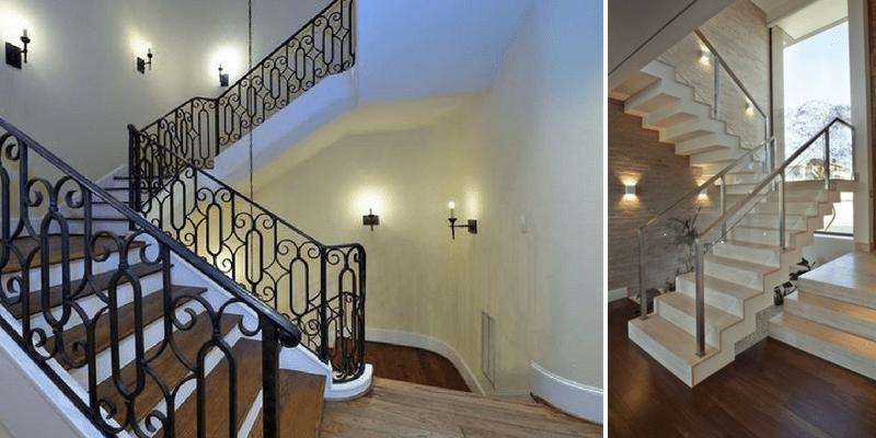 Kinkiety na klatkę schodową - oświetlenie ścienne na schody