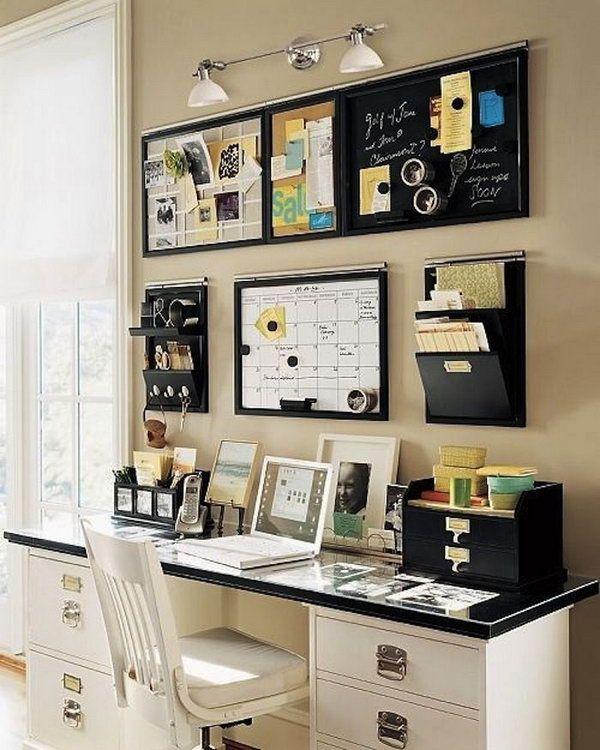 kinkiety ścienne do domowego biura