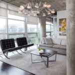 nowoczesny żyrandol do loftowego wnętrza