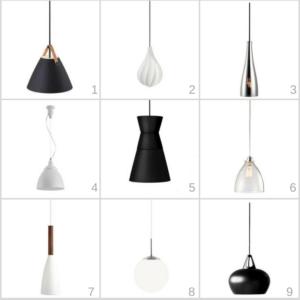 lampy nowoczesne kuchenne nad wyspę