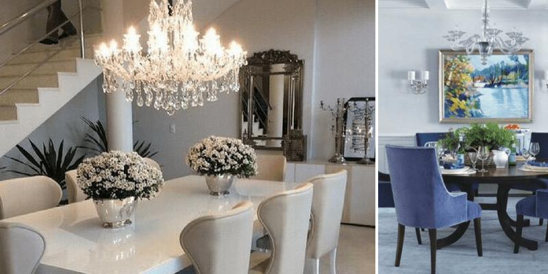 Eleganckie oświetlenie - żyrandole ze świecznikami i abażurami – jakie wybrać?