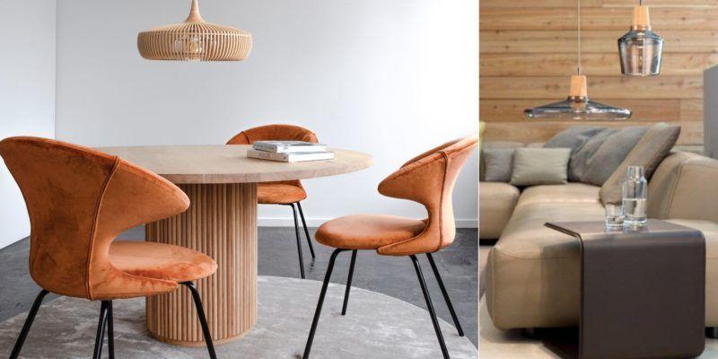 Lampy drewniane - oświetlenie z drewnianymi detalami i trend eko