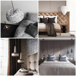lampy wiszące z regulowaną wysokością, do sypialni