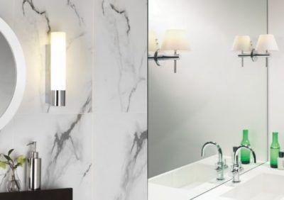 Jakie oświetlenie odnajdzie się w małej łazience?