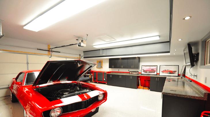 lampy do warsztatu samochodowego - oprawy led