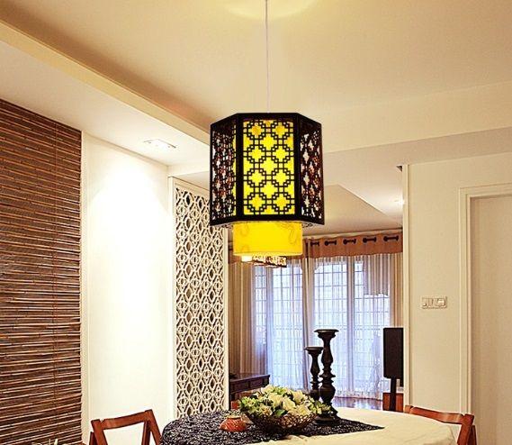 lampa wisząca w stylu chińskim