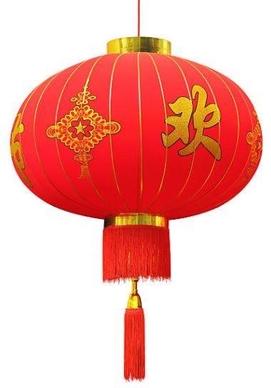oświetlenie w stylu chińskim - lampiony