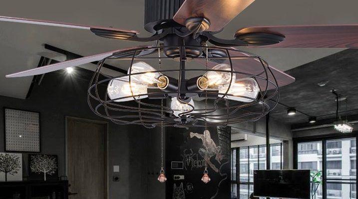 Wiatrak sufitowy z oświetleniem - funkcjonalna lampa czy kicz?
