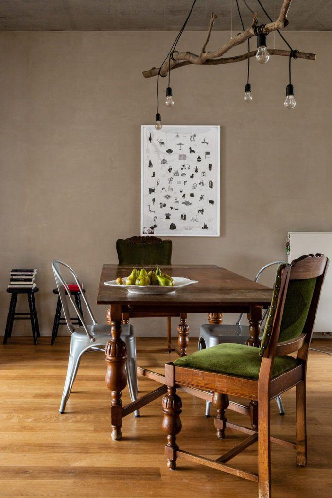 9-designerska-lampa-wisząca-z-drewna-i-żarówek
