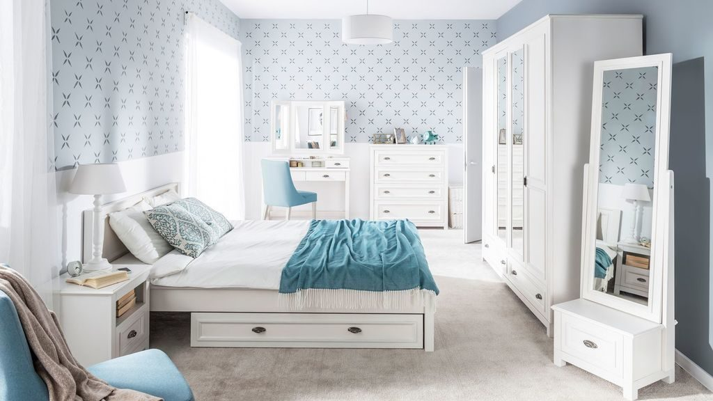 Jasna i klimatyczna sypialnia Madison