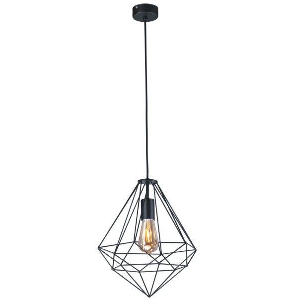 druciana czarna lampa