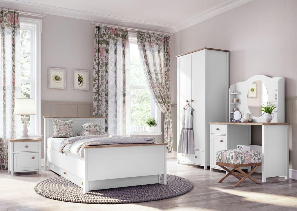 Aranżacja sypialni w stylu prowansalskim
