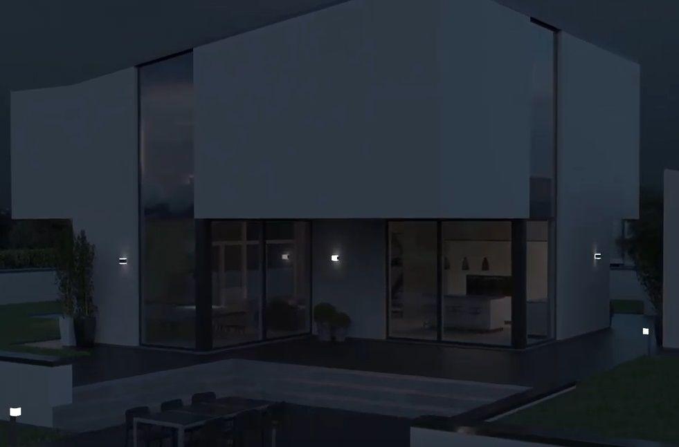 inteligentne oświetlenie tarasu i elewacji