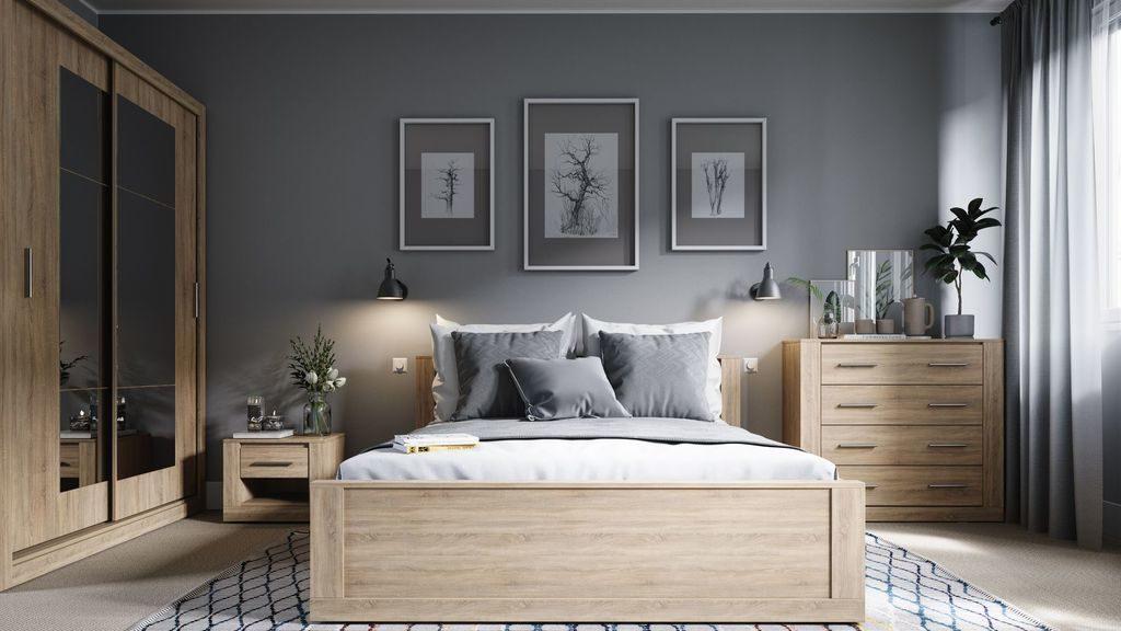 Pomysł na aranżacje sypialni - Idea