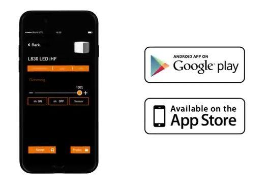 sterowanie lampami z telefonu - aplikacja na smartfona