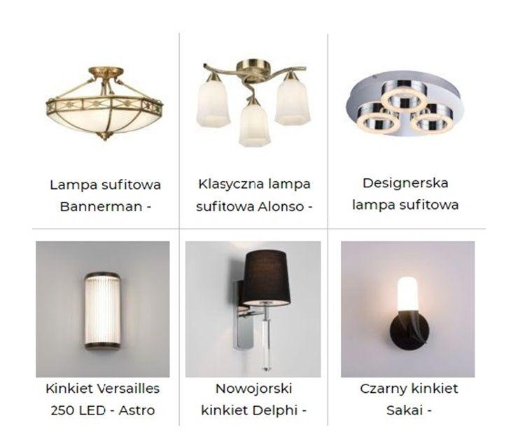 wybrane lampy sufitowe do lustra