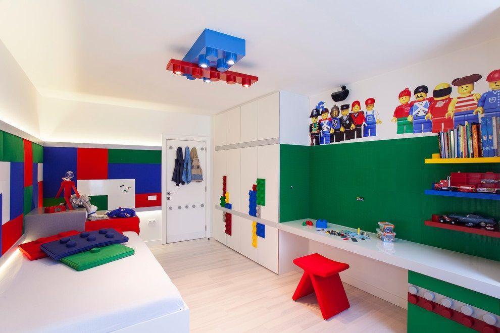 LAMPA Z KLOCKÓW LEGO DLA CHŁOPCA